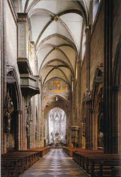 Inside Freiburg Cathedral (Rights unknown)